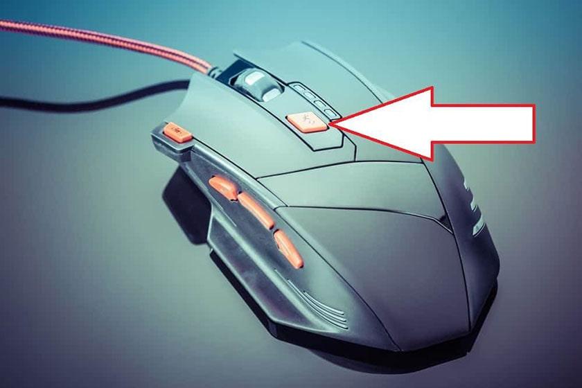 Thay đổi độ nhạy chuột bằng nút DPI