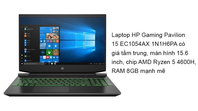 Laptop HP Gaming Pavilion 15 EC1054AX 1N1H6PA