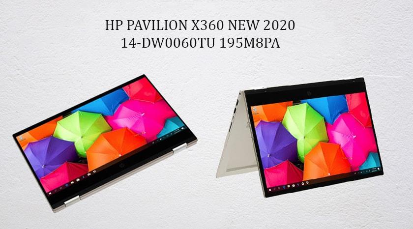 Laptop HP Pavilion x360 NEW 2020 14-DW0060TU 195M8PA