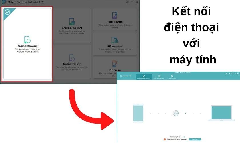 Khôi phục tin nhắn đã xóa bằng phần mềm