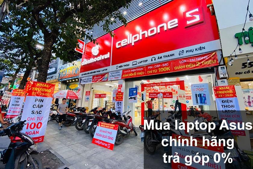 Mua laptop Asus ở đâu được bảo hành toàn quốc?