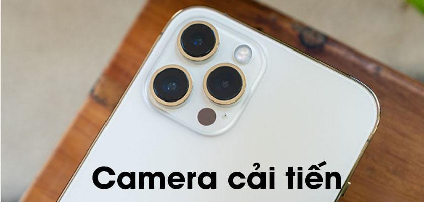 Cải tiến camera trên iphone 12