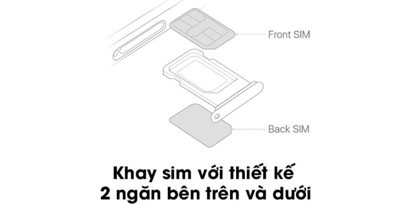 Cách sử dụng 2 sim trên iPhone 11 (Pro, Pro Max)