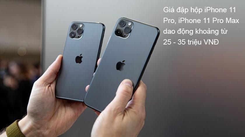 iPhone 11 (Pro, Pro Max) đập hộp giá bao nhiêu tiền?