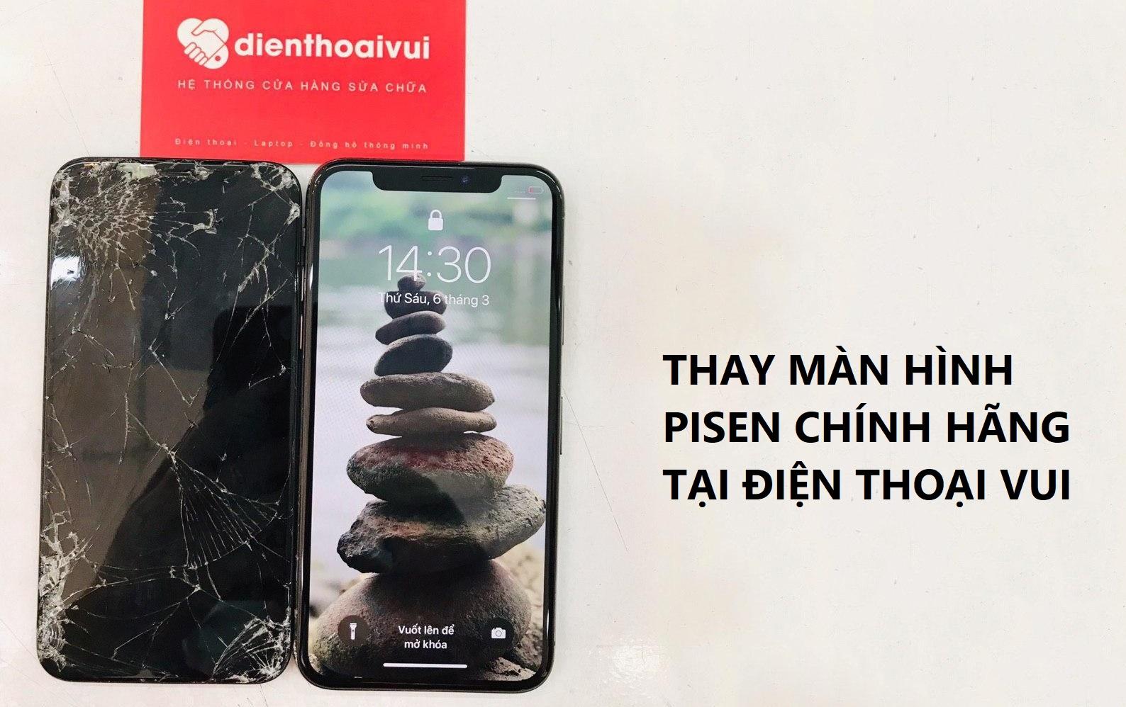 Màn hình Pisen iPhone Xs Max là gì? Có nên thay không?