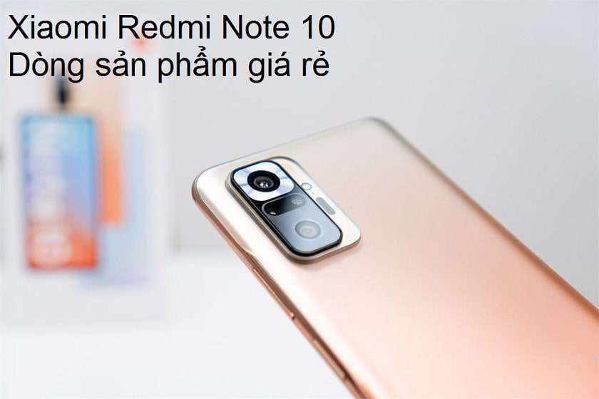 Xiaomi Redmi Note 10 series