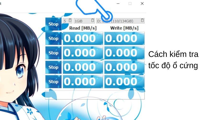 Kiểm tra tốc độ ổ cứng laptop bằng CrystalDiskMark
