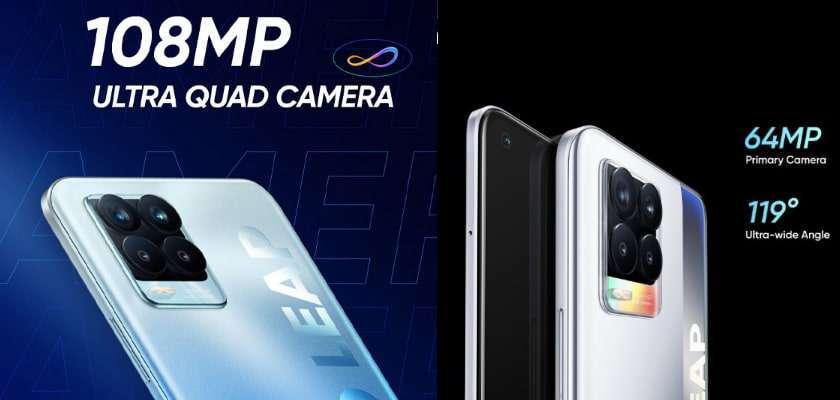 Camera trên Realme 8 Pro ấn tượng với độ phân giải 108MP