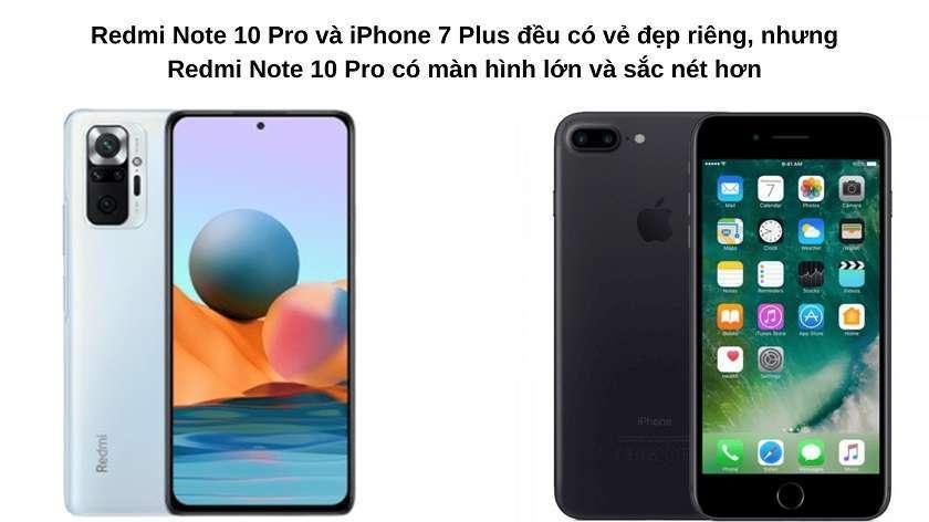 """So sánh về thiết kế và màn hình: Mang vẻ đẹp riêng, nhưng Redmi Note 10 Pro có màn hình """"xịn"""" hơn"""