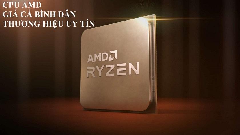 Lựa chọn CPU tương ứng với VGA, card màn hình- thương hiệu AMD