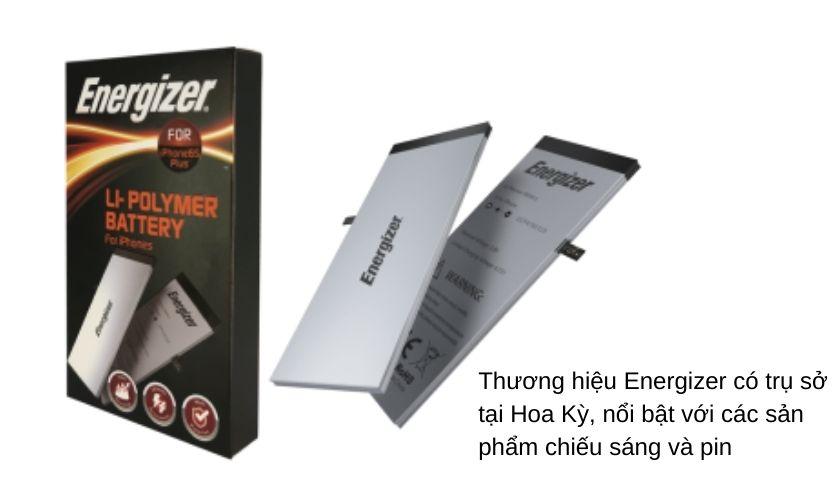 Thương hiệu Energizer của nước nào?