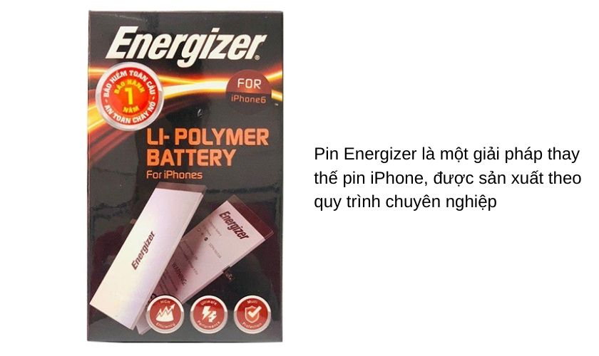 Pin Energizer là gì?