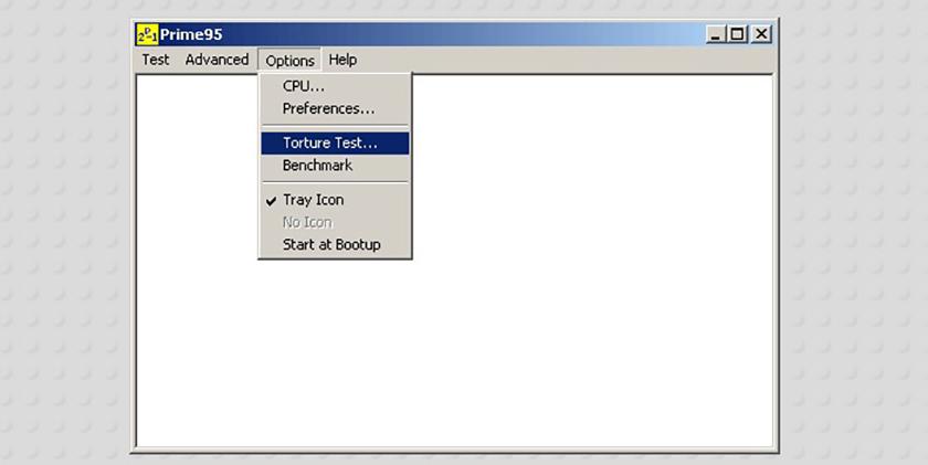 Phần mềm ép xung - Prime95