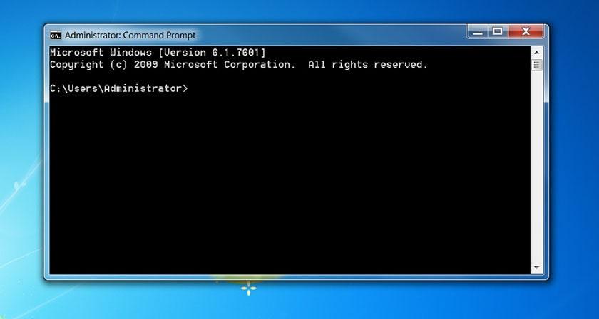 Bấm Command Prompt để kiểm tra tốc độ RAM trên máy tính laptop Win 10