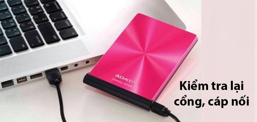 Laptop không nhận ổ cứng gắn ngoài, khắc phục thế nào?