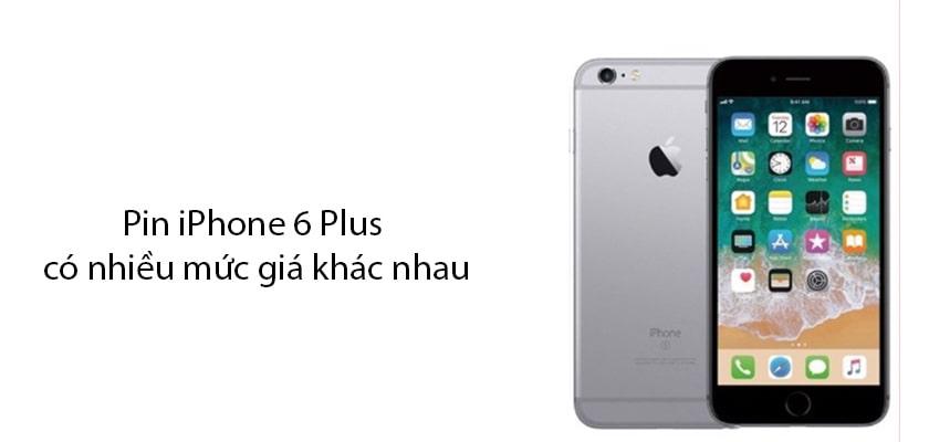 Thay pin iPhone 6 Plus giá bao nhiêu?
