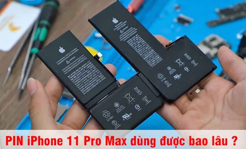 Đánh giá pin iPhone xs max