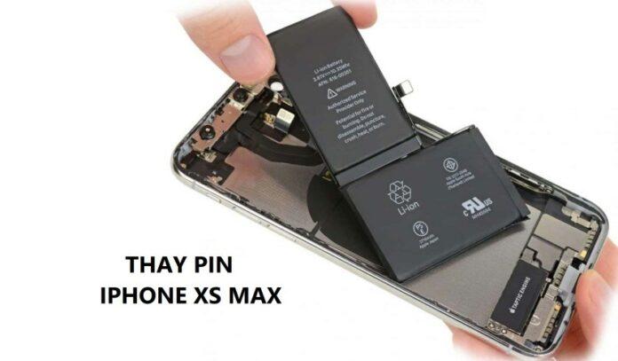 Thay pin iPhone Xs Max và những giải đáp thắc mắc bạn nên biết