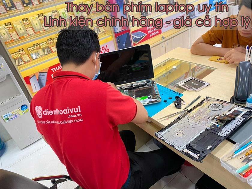 Gợi ý điểm thay bàn phím laptop Asus chất lượng