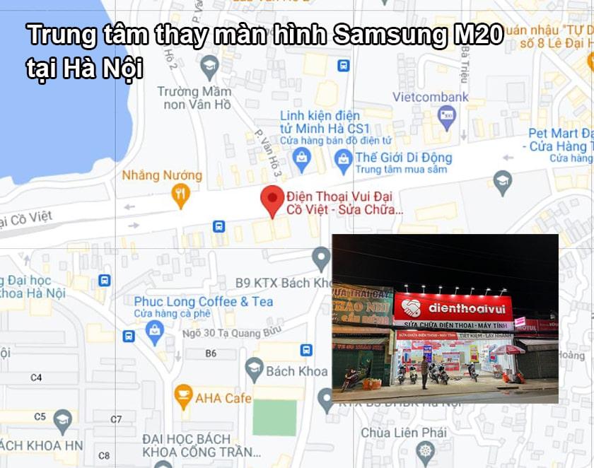 Trung tâm thay màn hình Samsung M20 tại Hà Nội