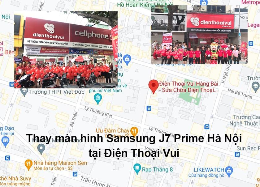 Địa điểm thay màn hình Samsung J7 Prime tại Hà Nội