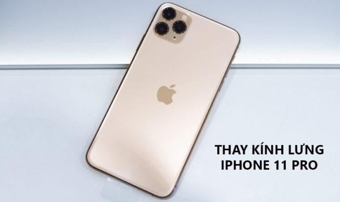 Thay ép kính lưng iPhone 11 Pro Max bao nhiêu tiền? Ở đâu?