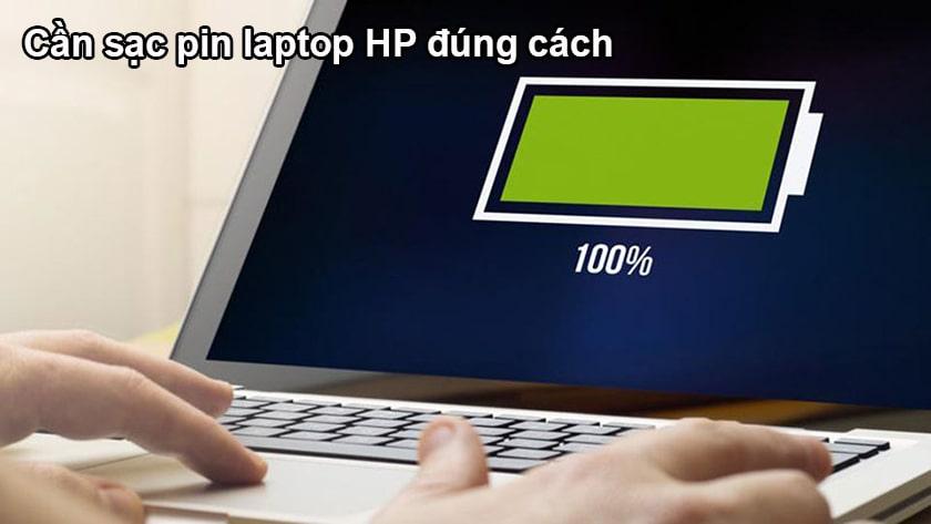 Các lưu ý để hạn chế chai pin trên laptop HP