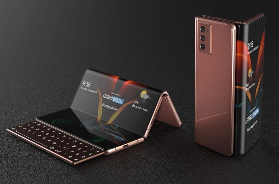 Thiết kế đặc biệt của điện thoại Z Fold 3