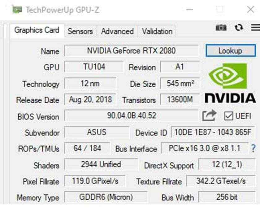 Phần mềm GPU-Z