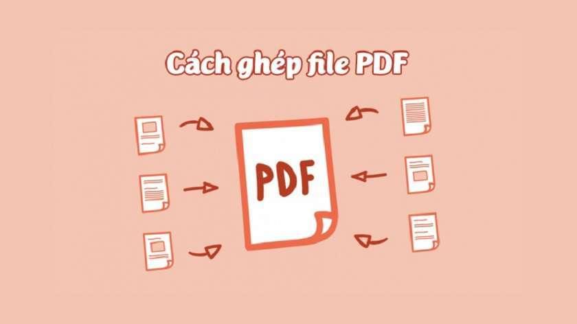 Tại sao phải ghép file PDF?