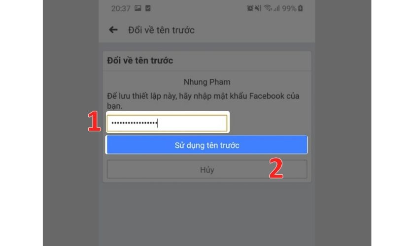 Một vài gợi ý trước khi đổi tên Facebook