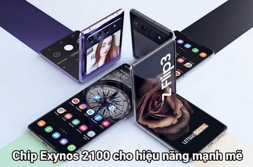 Hiệu năng của Galaxy Z Flip 3 và Z Flip