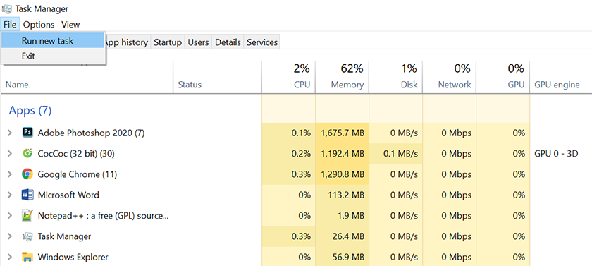 Sửa lỗi màn hình laptop bị đen chi tiết
