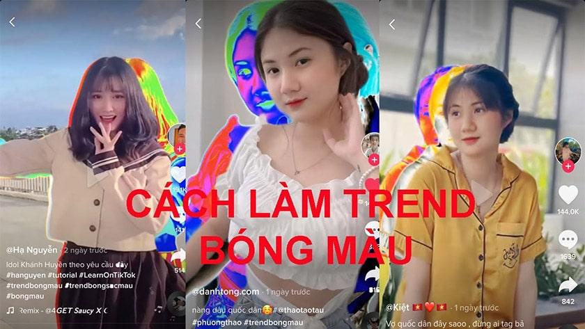 Quay các video hot trend