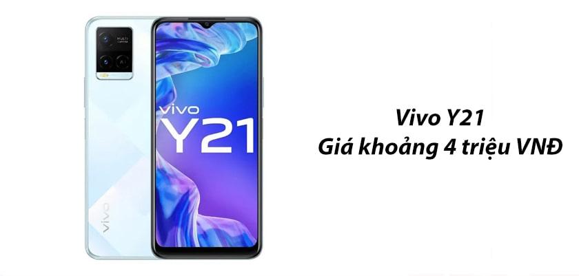 Vivo Y21 và Vivo Y21s có giá bao nhiêu