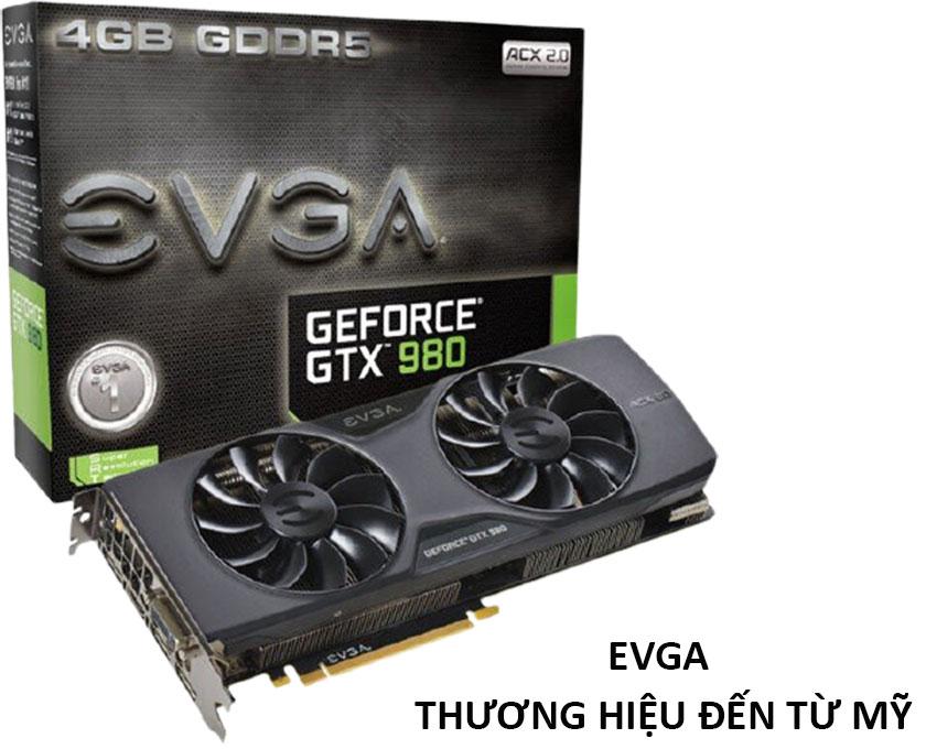 Card VGA thương hiệu mỹ EVGA