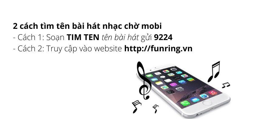 Tìm mã số bài hát cài nhạc chờ Mobifone