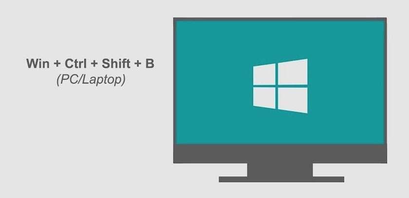 Khởi động driver của card đồ họa khi máy tính bị đơ