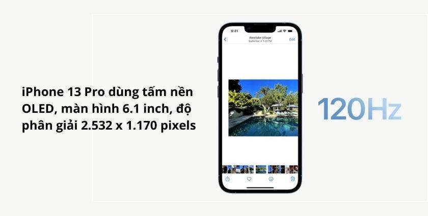 So sánh chi tiết điện thoại iPhone 13 Pro và iPhone 12 Pro