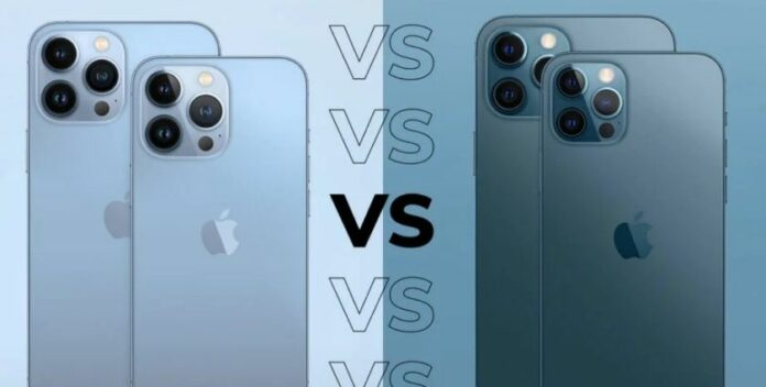 So sánh điện thoại iPhone 13 Pro khác gì iPhone 12 Pro?